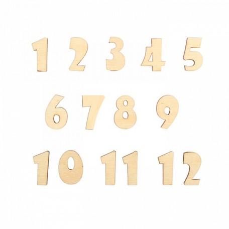 Арабские цифры арт.DZ40032 Набор №1