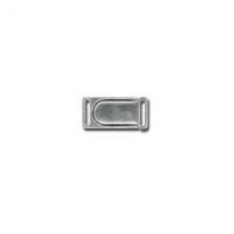 Застежка декоративная арт.HP-3301 магнитная 10мм цв.никель